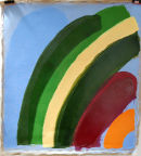 Untitled 2008-09, acrylic on linen. 40 x 28 ins