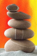 5 stones balance & harmony