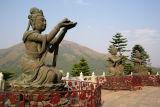 offering to buddha lantau island