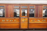 1st class great northern railway carriage. circa 1920