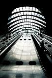 Canary Wharf tube station, London