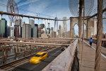 View from Brooklyn Bridge, NY