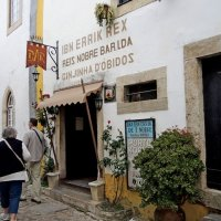 Obidos, the old cafe