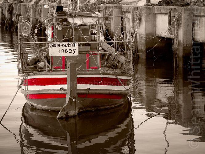 In dock