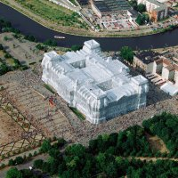 Aerial View of Berlin Parliament