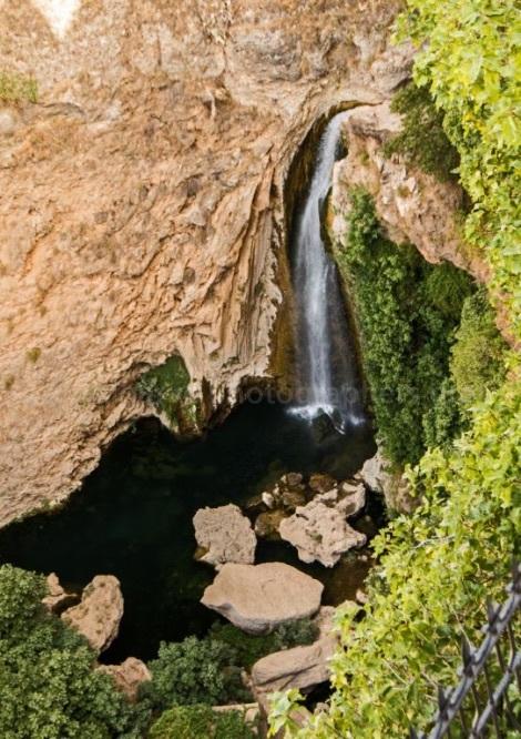 Waterfall at Ronda