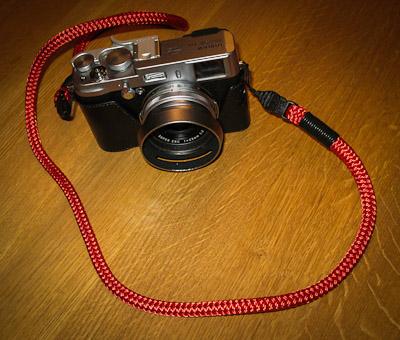 Lance camera strap ...