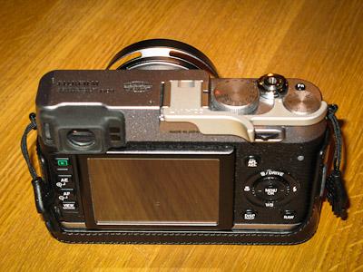 Lensmate LM X100 thumbrest