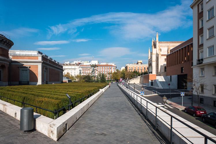 Area between the Buildings 2