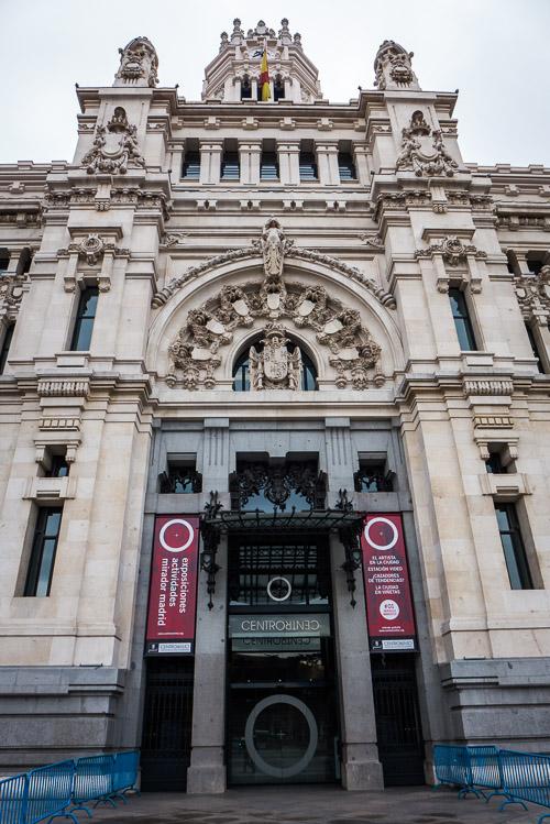 Entrance Palacio de Com