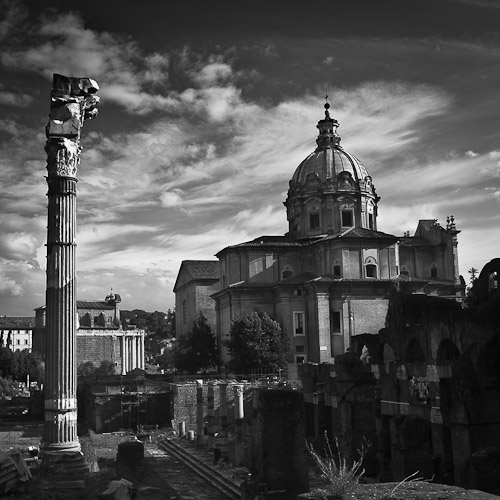 Church at Foro Romano