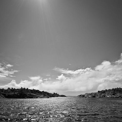 View from Brekkestø