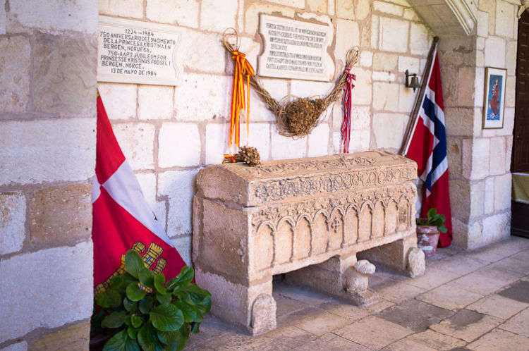Tomb of princess Kristina of Norway