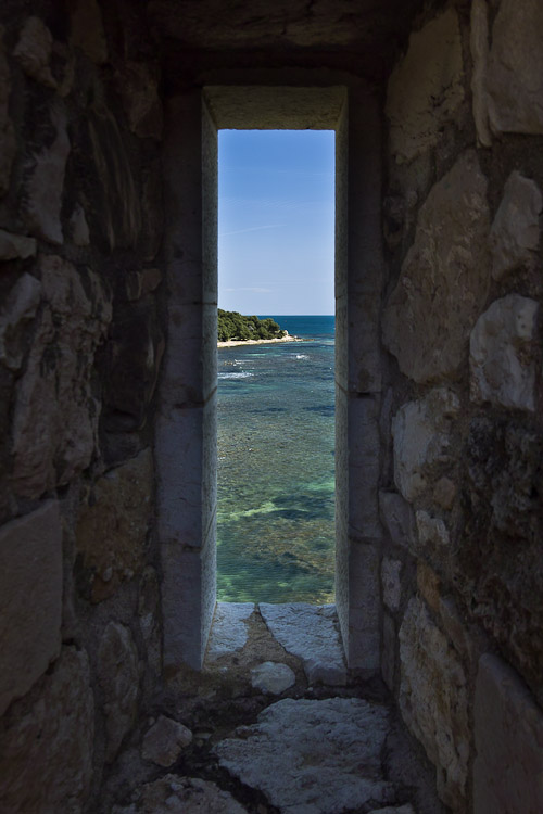 Window in castle