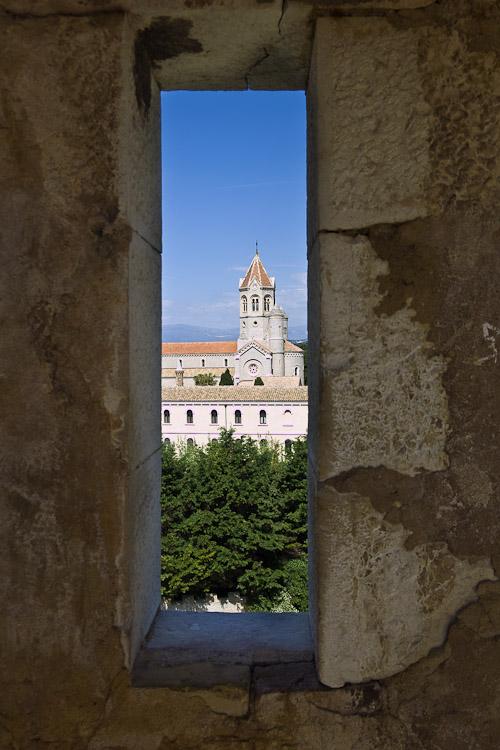 Window in castle