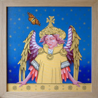 Ranworth Angel and the Monarch