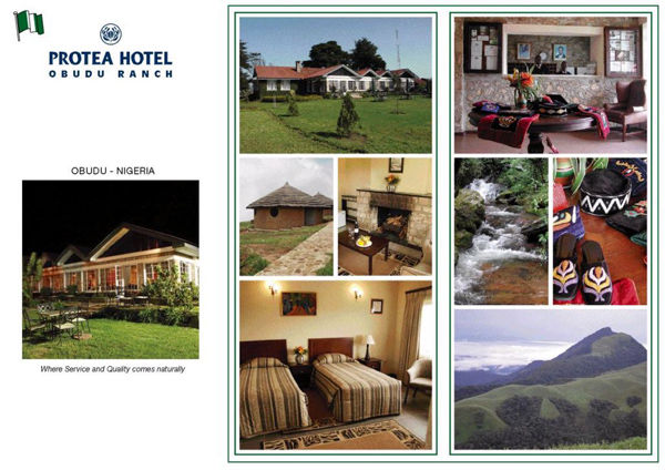 Protea Hotel, Obudu Ranch - Flier Cover
