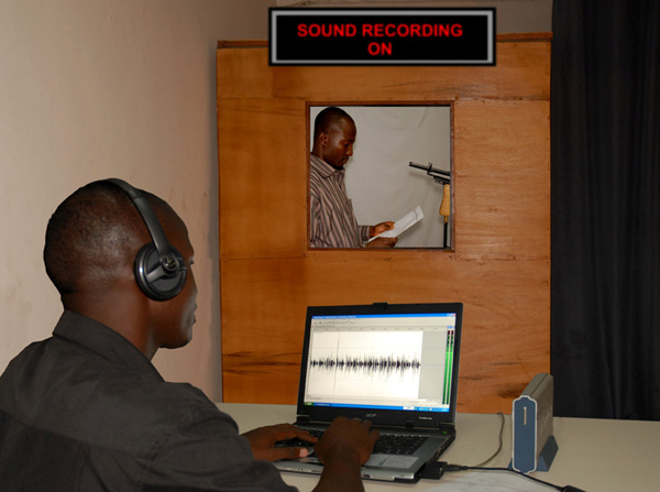 Our Sound Recording Studio