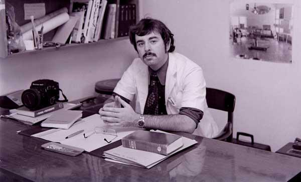 My Office at Enugu University Teaching Hospital 1974