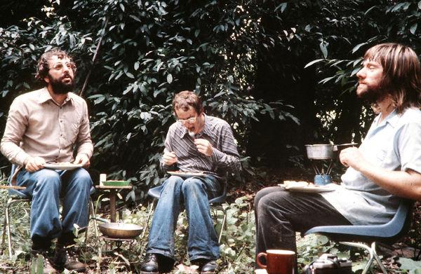 Breakfast Yankari Game Reserve 1981