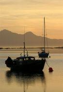 Still night at anchor