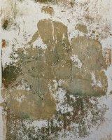 Three seated figures 28 x 23cms Monoprint