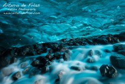 In a Glacier cave, under countless tons of ice... II