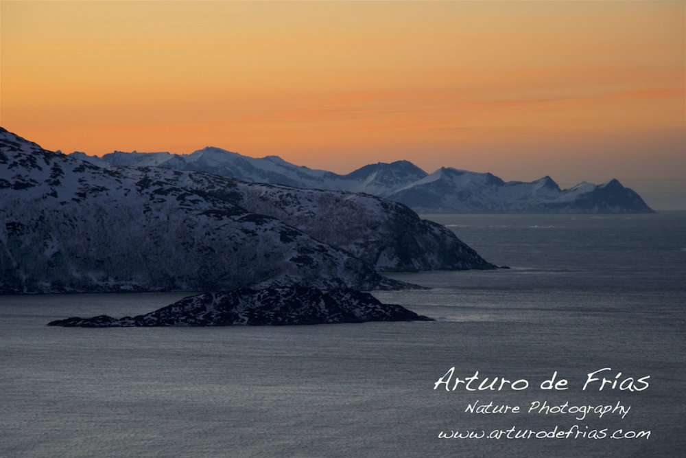 Winter Sky in the Fjord