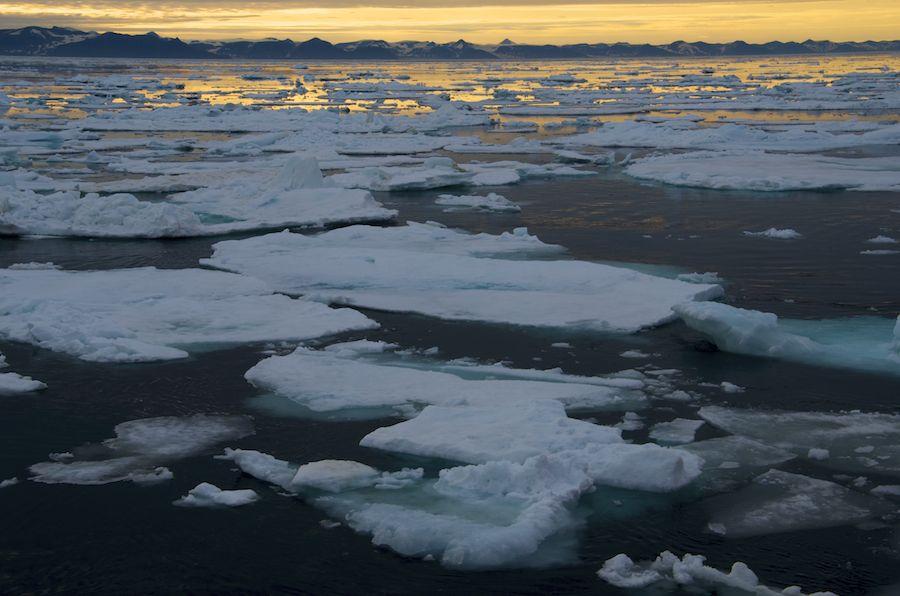Pack Ice, Polar Circle