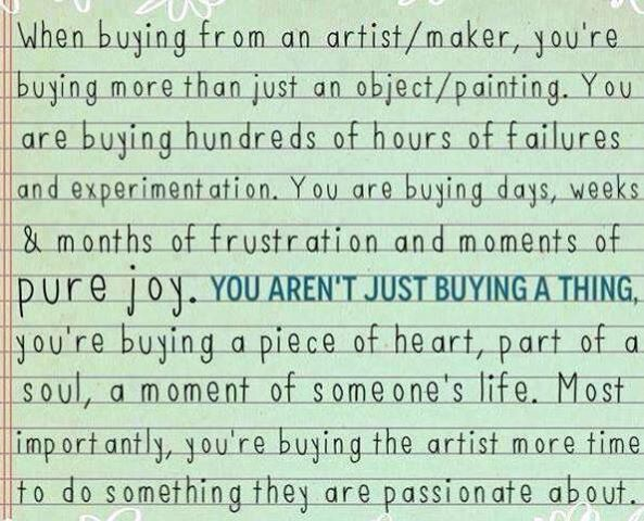 buying art