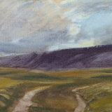 O32 Brownsey Moor 2014 oil 25x20cm £450