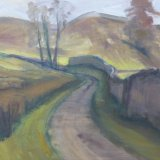 O9 Dales Lane 2014 oil on canvas 60x30cm £550