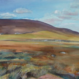 W6 Brownsey Moor IV 2006 watercolour 97x64cm SOLD
