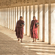 Collecting the Alms