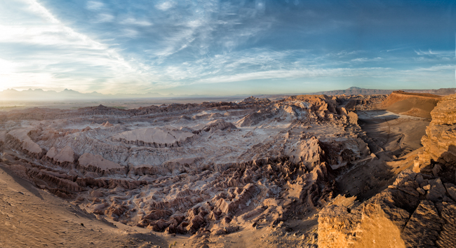 Valley  of  the  Moon  Panarama