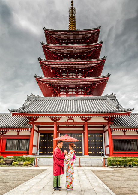 Wedding Proposal in Tokyo