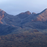 Last Light on the Cuillins
