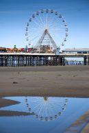 On The Beach - Blackpool