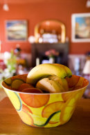 Bowl of Fruit, Logie Schoolhouse