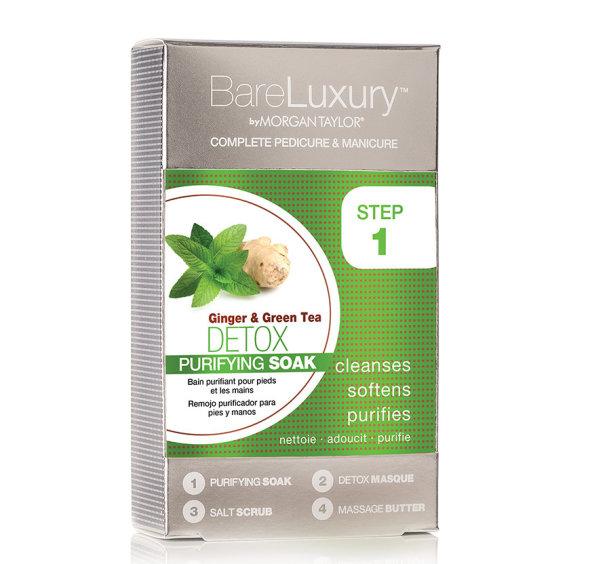BareLuxury Complete Manicure & Pedicure DETOX €10