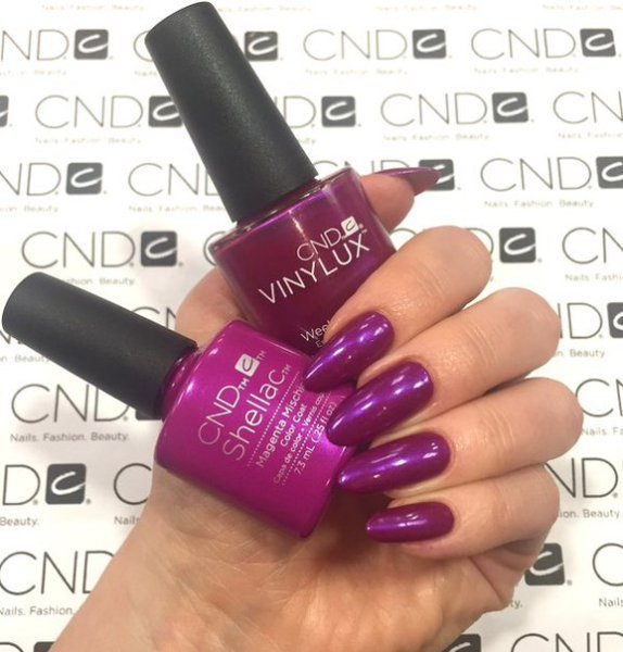CND Art Vandal Spring Collection 2016 Magenta Mischief #209 €12