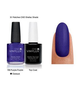 CND Vinylux Purple Purple #138 €12