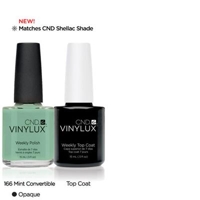 CND Vinylux Mint Convertible #166 €12