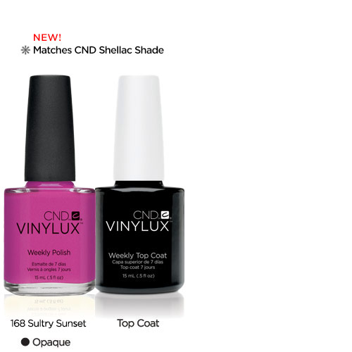 CND Vinylux Sultry Sunset #168 €12