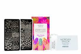 Morgan Taylor Designer Plates Nail Art Stamping Kit FLIRTY FLORALS €29.95