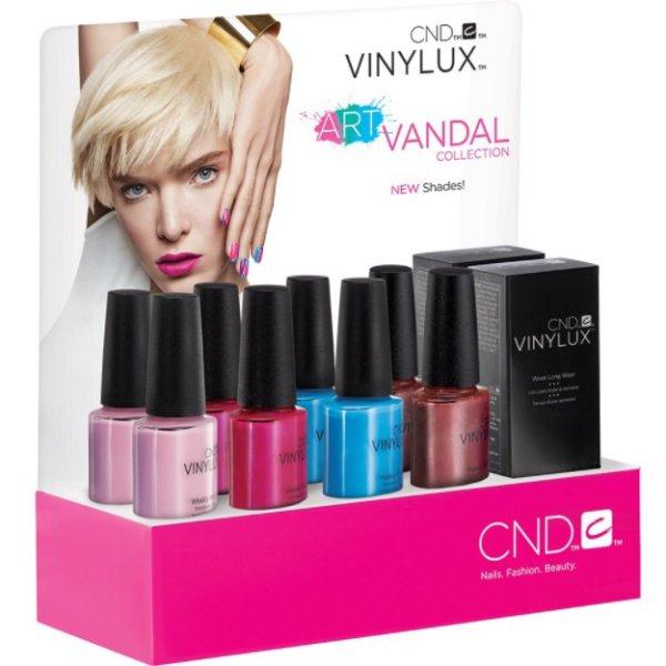 CND Vinylux Art Vandal Spring Collection 2016 €12