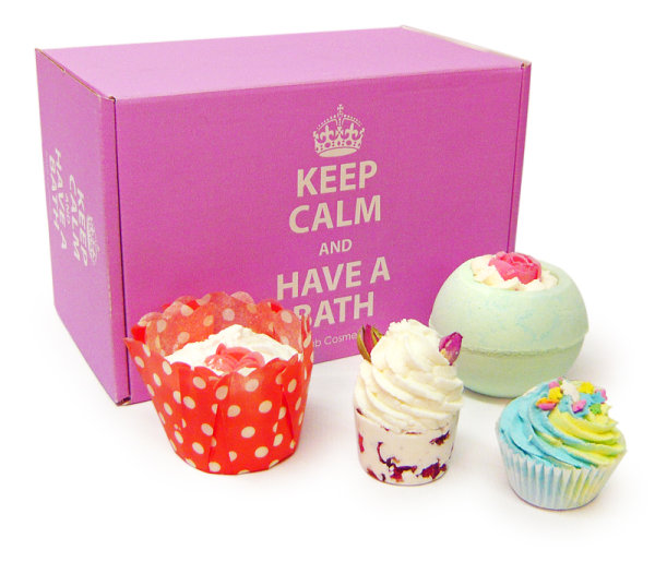 Keep Calm & Have a Bath Gift Hamper (Choose your Value)