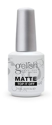 Gelish MATTE Top It Off Top Coat 15ml €35.50
