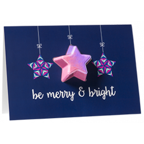 Be Merry & Bright Bath Blaster Greeting Card €4.95