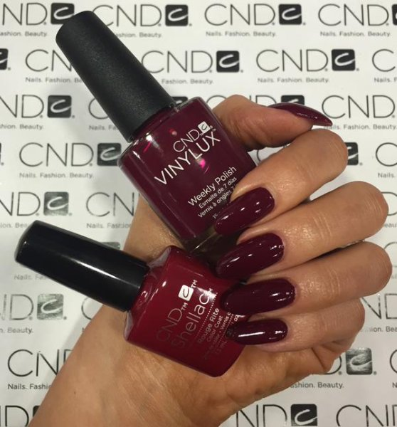 CND Vinylux Contradictions Fall Collection 2015 Rouge Rite #197 €12